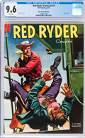 Golden Age (1938-1955):Western, Red Ryder Comics #119 Mile High Pedigree (Dell, 1953) CGC NM+ 9.6 White pages....