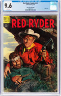 Golden Age (1938-1955):Western, Red Ryder Comics #141 Mile High Pedigree (Dell, 1955) CGC NM+ 9.6 White pages....