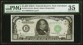 Small Size:Federal Reserve Notes, Fr. 2212-D $1000 1934A Federal Reserve Note PMG Choice Very Fine35.. Ink Lightened...