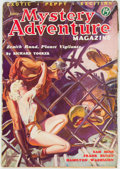 Pulps:Adventure, Mystery Adventures Magazine - June 1936 (Fiction Magazines) Condition: VG+....