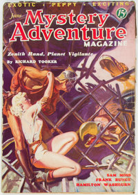 Mystery Adventures Magazine - June 1936 (Fiction Magazines) Condition: VG+