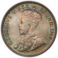 Canada, George V 25 Cents 1911 MS65 PCGS,...