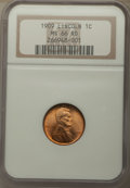 Lincoln Cents, 1909 1C MS66 Red NGC. NGC Census: (187/6). PCGS Population: (553/77). CDN: $200 Whsle. Bid for problem-free NGC/PCGS MS66. ...