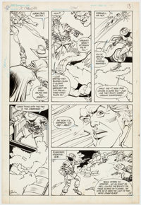 "Carmine Infantino and Bob Smith DC Challenge #3 ""Jonah Hex"" Story Page 8 Original Art (DC Co"