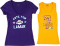 Movie/TV Memorabilia:Costumes, Kardashian Collection of Los Angeles Lakers Tank Tops and ...