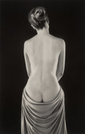Photographs:Gelatin Silver, Ruth Bernhard (American, 1905-2006). Draped Torso, 1962. Gelatin silver, printed later. 19-3/8 x 12-1/4 inches (49.2 x 3...