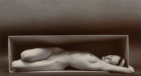 Ruth Bernhard (American, 1905-2006) In the Box-Horizontal, 1962 Gelatin silver, printed later 10-