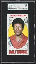 Baseball Cards:Singles (1950-1959), 1969 Topps Wes Unseld #56 SGC 86 NM+ 7.5....