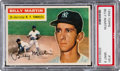 Baseball Cards:Singles (1950-1959), 1956 Topps Billy Martin #181 PSA Mint 9 - Only One Higher....