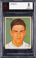 Baseball Cards:Singles (1930-1939), 1933 Goudey Mel Ott #127 BVG NM-MT 8 - Pop One, Highest BVGExample! ...