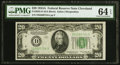 Small Size:Federal Reserve Notes, Fr. 2055-D $20 1934A Federal Reserve Note. PMG Choice Uncirculated64 EPQ.. ...