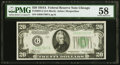 Small Size:Federal Reserve Notes, Fr. 2055-G $20 1934A Federal Reserve Note. PMG Choice About Unc58.. ...