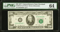 Small Size:Federal Reserve Notes, Fr. 2072-D* $20 1977 Federal Reserve Star Note. PMG ChoiceUncirculated 64.. ...