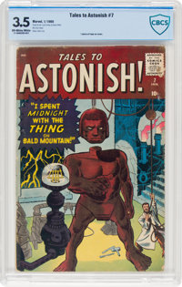 Tales to Astonish #7 (Marvel, 1960) CBCS VG- 3.5 Off-white to white pages