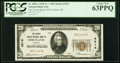 National Bank Notes:Oregon, Portland, OR - $20 1929 Ty. 1 The United States NB Ch. # 4514 PCGS Choice New 63PPQ.. ...