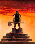 Original Comic Art:Covers, Frank Frazetta Creepy #17 Cover Painting Original Art (Warren, 1967)....