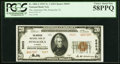 National Bank Notes:Florida, Pensacola, FL - $20 1929 Ty. 2 The American NB Ch. # 5603 PCGSChoice About New 58PPQ.. ...