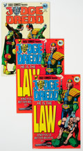 Modern Age (1980-Present):Science Fiction, Judge Dredd Group of 46 (Eagle/Quality, 1983-87) Condition: AverageVF/NM.... (Total: 46 Comic Books)