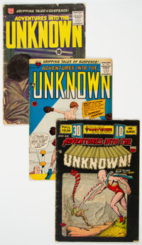 Adventures Into The Unknown Group of 23 (ACG, 1954-67) Condition: Average GD/VG.... (Total: 23 Comic Books)