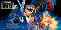 "Return of the Jedi (20th Century Fox, 1983). Rolled, Very Fine. British Full-Bleed 12 Sheet (120.5"" X 60"") Jos..."