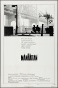 "Movie Posters:Comedy, Manhattan (United Artists, 1979). Folded, Very Fine. One Sheet (27""X 41"") Style B. Comedy.. ..."