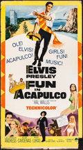 "Movie Posters:Elvis Presley, Fun in Acapulco (Paramount, 1963). Fine/Very Fine. Standee (32.5"" X 59""). Elvis Presley.. ..."