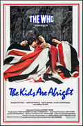 "Movie Posters:Rock and Roll, The Kids Are Alright (New World, 1979). Folded, Very Fine+. OneSheet (27"" X 41""). Rock and Roll.. ..."