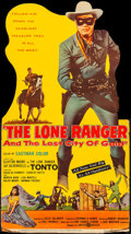 """Movie Posters:Western, The Lone Ranger and the Lost City of Gold (United Artists, 1958). Folded, Very Fine-. Die Cut Standee (32.5"""" X 58.25""""). West..."""