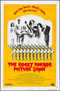 """The Rocky Horror Picture Show (20th Century Fox, 1975). Folded, Very Fine+. One Sheet (27"""" X 41"""") Style B. Roc..."""