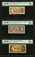 China Japanese Imperial Government 1; 5; 10; 50 Sen; 1; 5; 10 Yen ND (1939) Pick M7s; M9s; M11s; M13s; M15s; M17s; M1
