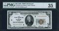 Fr. 1870-E $20 1929 Federal Reserve Bank Note. PMG Choice Very Fine 35