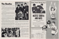 Music Memorabilia:Memorabilia, The Beatles Forest Hills Music Festival 1964 Program (US, 1964).. ...