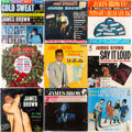 Music Memorabilia:Recordings, James Brown Sealed LP Group of 9 (King and Smash labels, 1...