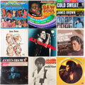 Music Memorabilia:Recordings, James Brown Sealed LP Group of 9 (Various labels, 1966-72)....(Total: 9 Items)