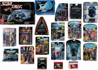 Star Trek Multiple Series Group of Dan Curry Owned Toys and Models (Circa 1980s-2000s)