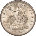 Trade Dollars, 1876 T$1 Type One Obverse, Type One Reverse, MS64+ PCGS. CAC....