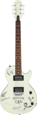 Epiphone Special Model Guitar Signed by 1997 Grammy Attendees With Gig Bag (1997)