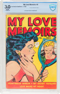Golden Age (1938-1955):Romance, My Love Memoirs #9 (Fox Features Syndicate, 1949) CBCS GD/VG 3.0Brittle pages....