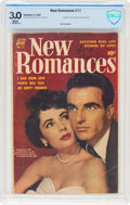 Golden Age (1938-1955):Romance, New Romances #11 (Standard, 1952) CBCS GD/VG 3.0 White pages....