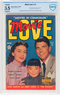 Movie Love #13 (Famous Funnies Publications, 1952) CBCS Conserved VG- 3.5 Slightly brittle pages