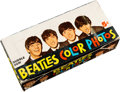 Music Memorabilia:Memorabilia, The Beatles Topps Chewing Gum and Color Photos and Display Box (1964). . ...
