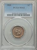 Indian Cents: , 1860 1C MS62 PCGS. PCGS Population: (176/1134). NGC Census:(164/738). CDN: $200 Whsle. Bid for problem-free NGC/PCGS MS62....