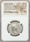 Ancients:Roman Imperial, Ancients: Hadrian (AD 117-138). AR cistophorus (28mm, 10.09 gm,7h). NGC VF 5/5 - 4/5, Fine Style....