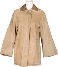 Movie/TV Memorabilia:Costumes, Farrah Fawcett Owned Tan Coat. . ...