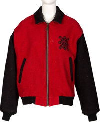 Farah Fawcett Owned Red and Black Pendleton Jacket