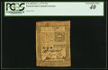 Colonial Notes:Pennsylvania, Pennsylvania October 1, 1773 15s PCGS Extremely Fine 40.