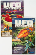 Bronze Age (1970-1979):Miscellaneous, UFO Encounters #11404 and UFO Mysteries #11400 Group (WesternPublishing, 1978) Condition: Average VF.... (Total: 2 )