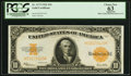 Large Size:Gold Certificates, Fr. 1173 $10 1922 Gold Certificate PCGS Apparent Choice New 63.. ...