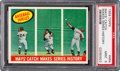"""Baseball Cards:Singles (1950-1959), 1959 Topps """"Mays' Catch Makes Series History"""" #464 PSA Mint 9 -Only One Higher...."""