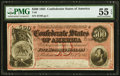 Confederate Notes:1864 Issues, T64 $500 1864 PF-3 Cr. 489B PMG About Uncirculated 55 EPQ.. ...
